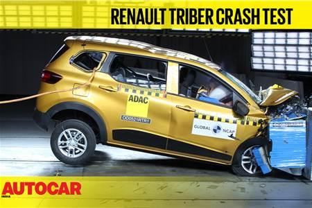 Watch Renault Triber Global NCAP crash test video