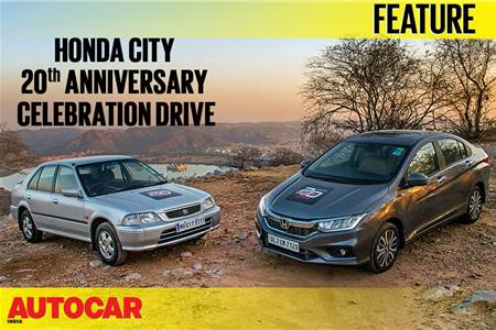 Honda City 20th Anniversary Celebration Drive video part 1