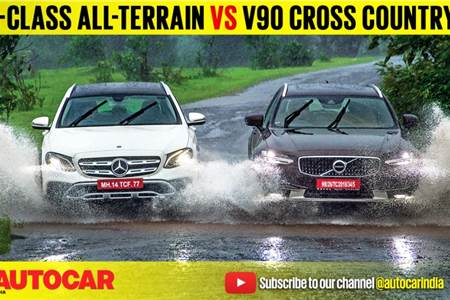 Mercedes-Benz E-class All-Terrain vs Volvo V90 Cross Country Comparison Test