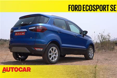 2021 Ford EcoSport SE first look video