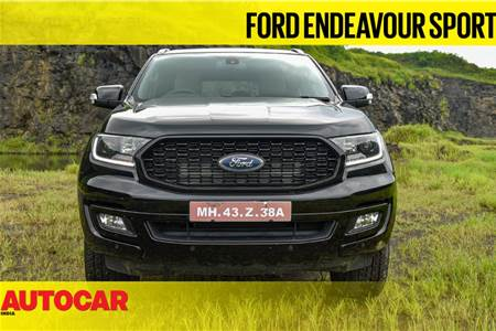 Ford Endeavour Sport first look video