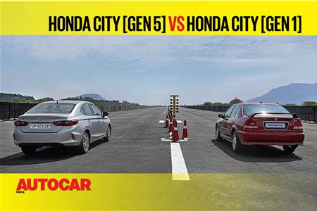 Autocar Drag Day 2021: City (Gen 5) vs City (Gen 1) drag race