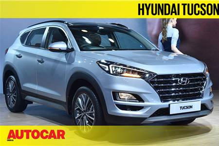 Hyundai Tucson facelift first look video