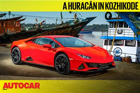 Exploring Kozhikode in a Lamborghini Huracan video