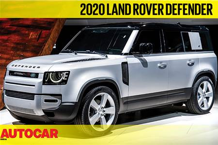 2020 Land Rover Defender first look video