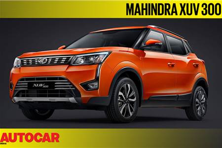Mahindra XUV300 first look video