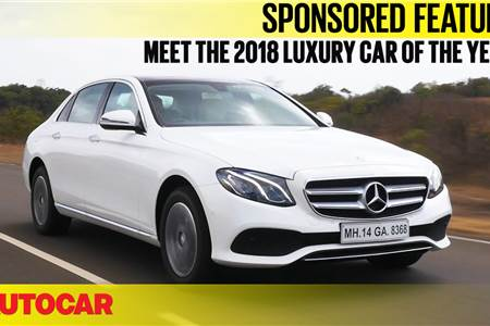 Sponsored feature: Why the Mercedes E-class is the 2018 Luxury car of the Year
