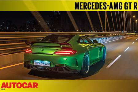 Fly By Night - Mercedes-AMG GT R in Mumbai video