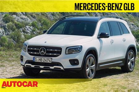 Mercedes-Benz GLB first look video