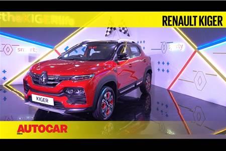 2021 Renault Kiger first look video