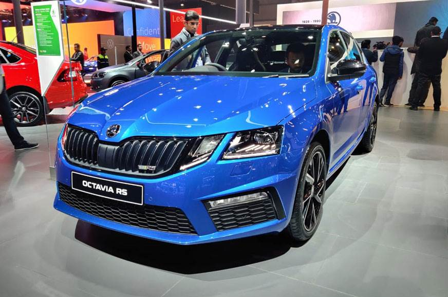Skoda Octavia RS 245 launched at Auto Expo 2020 as limited ...