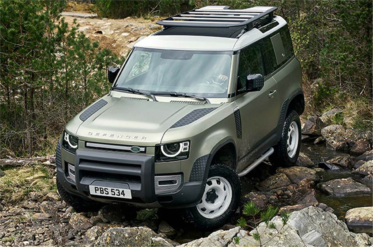 New 2020 Land Rover Defender launched in India, prices ...