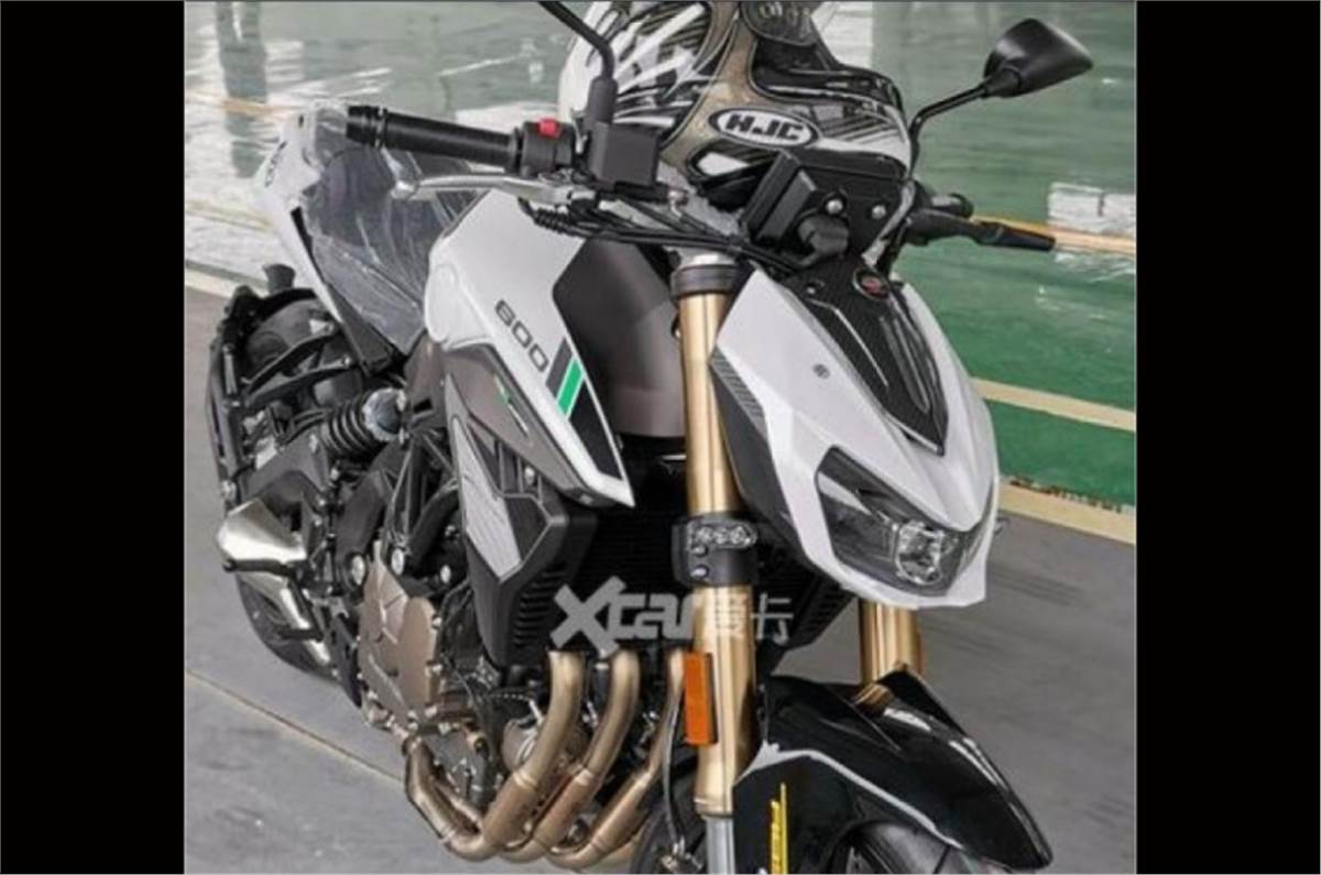 Benelli 600 RR Supersport Motorcycle Leaked - TorqueXpert