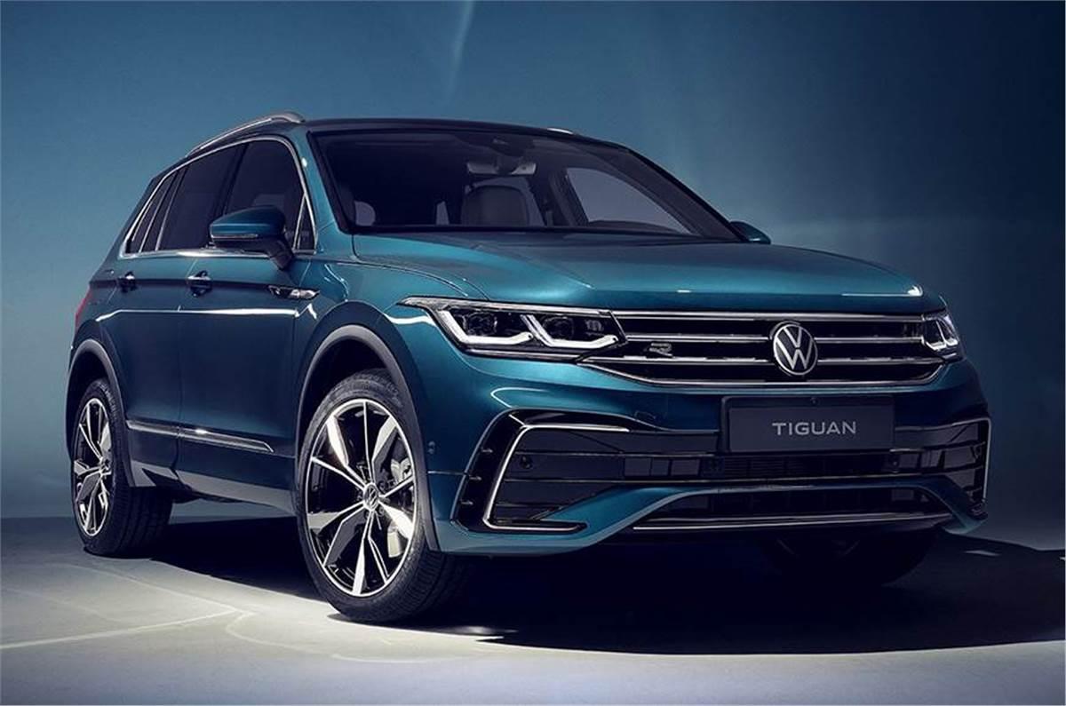 2021 Volkswagen Tiguan facelift revealed - Autocar India