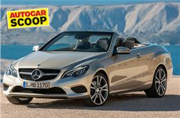 SCOOP! Mercedes E 400 Cabriolet coming 2015