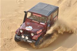Mahindra Great Escape, Jaisalmer 2015 report