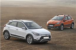 Hyundai i20 Active vs Fiat Avventura comparison
