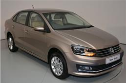 Volkswagen Vento facelift revealed
