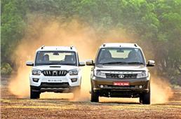 Tata Safari Storme facelift vs Mahindra Scorpio comparison