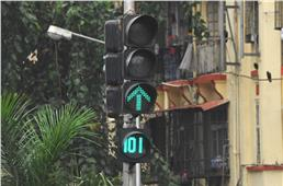 World's first electric traffic signal turns 101