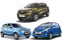 Renault Kwid vs Alto 800 vs Eon: Specs and features compa...