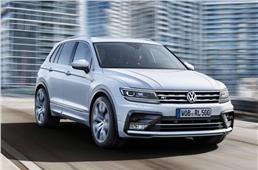 India bound VW Tiguan revealed at Frankfurt