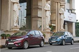 Honda Jazz CVT vs Nissan Micra CVT comparison