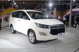 Toyota showcases new Innova Crysta, Prius at Auto Expo 2016