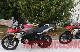 BMW G 310 GS dual-purpose bike spied