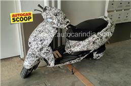 SCOOP! New TVS electric scooter spied