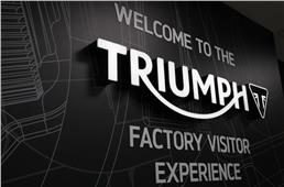 Triumph opens new factory visitor centre