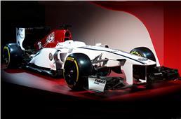 Sauber showcases Alfa Romeo livery for 2018 F1 season
