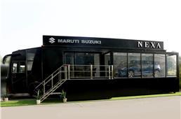 Maruti Suzuki unveils mobile Nexa terminal