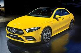 Mercedes-Benz A-class sedan: A close look