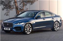 2021 Jaguar XF facelift revealed