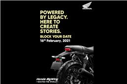New Honda CB350 based motorcycle to be unveiled on Feb 16