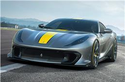 New Ferrari 812 Superfast based supercar showcased
