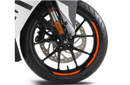KTM 390s are back on Metzeler tyres in India