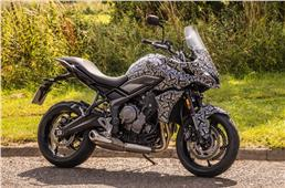 Triumph Tiger Sport 660 in the works
