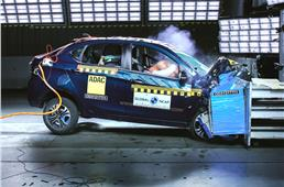 Tata Tigor EV scores 4 stars in GNCAP's first EV cr...