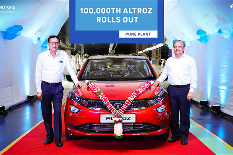 Tata Altroz crosses 1-lakh production milestone in 20 months