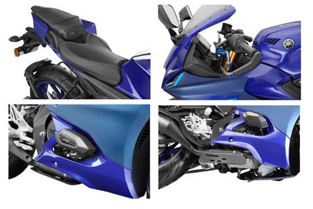 Yamaha R15 V4, R15M accessories price list revealed