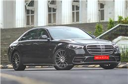 Made-in-India Mercedes-Benz S-Class India launch on Octob...