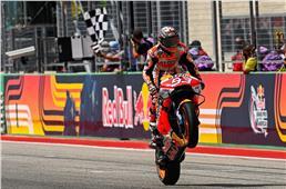 2021 Americas MotoGP: Marc Marquez storms to victory