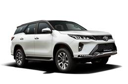 Toyota Fortuner Legender 4x4 launched at Rs 42.33 lakh