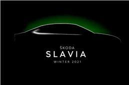 New Skoda midsize sedan christened Slavia; global debut b...