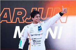 Arjun Maini scores maiden DTM podium