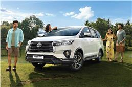 Toyota Innova Crysta Limited Edition launched, priced fro...