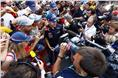 These days Vettel is a big draw at grands prix, as an impromptu autograph session at Alonso-crazy Barcelona proves.