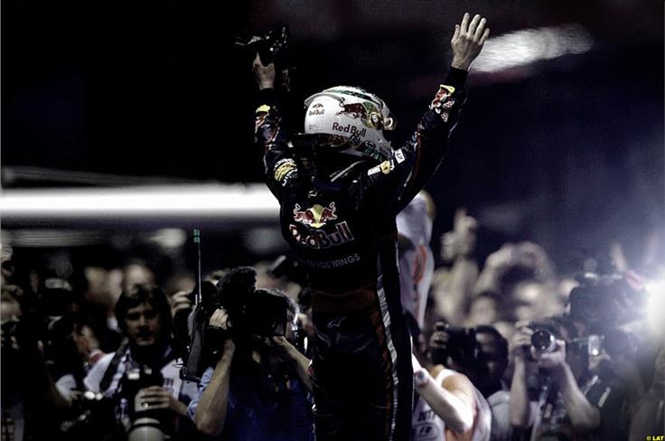 The Singapore victory left the German on the verge of his second title, needing just one point in the remaining five races. Japan was next, and all was ready for glory.
